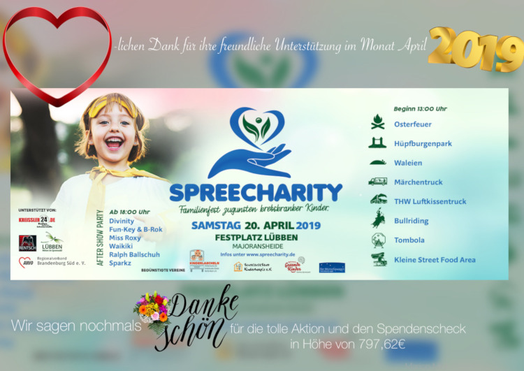 Spenden April 2019